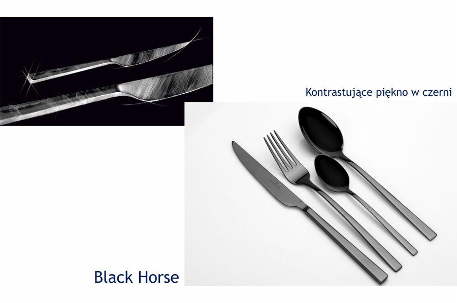 czarne sztucce magnus