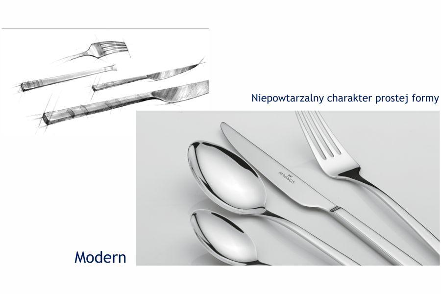 komplet sztuccy modern